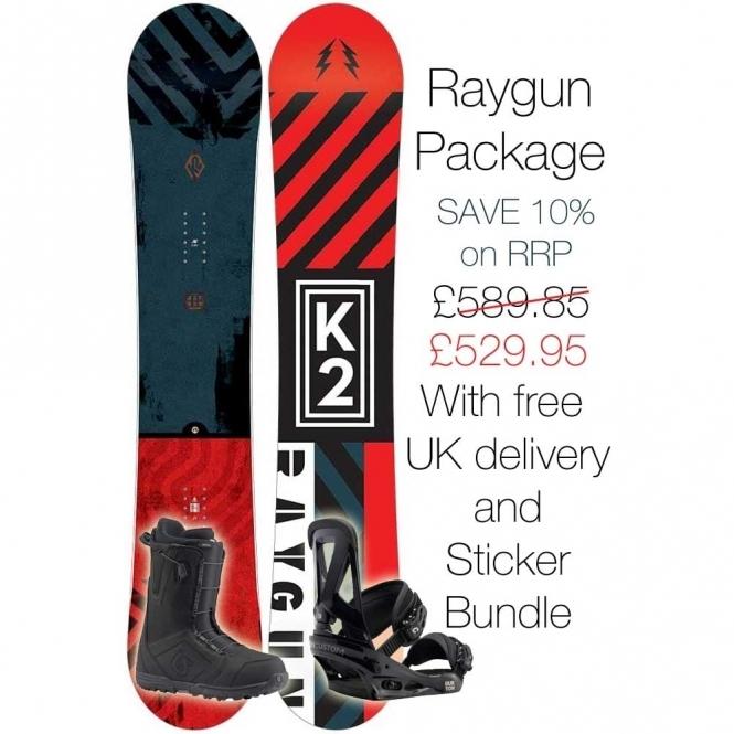 K2 Raygun Snowboard Package