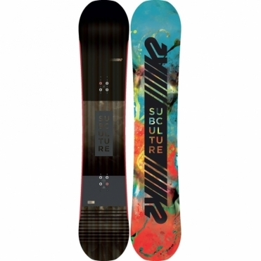 K2 Subculture Snowboard 162 Wide