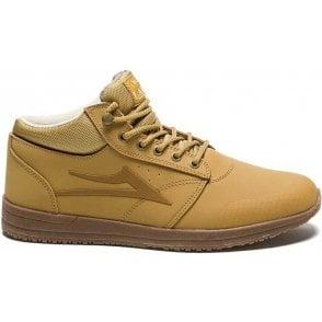 Lakai Griffin Mid WT Shoe - Honey/Nubuck