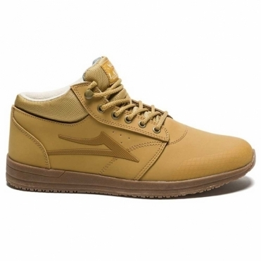 Lakai Griffin Mid WT Shoe - Honey/Nubuck