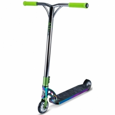 MGP VX7 Team Limited Edition Scooter - Neo-Chrome / Lime