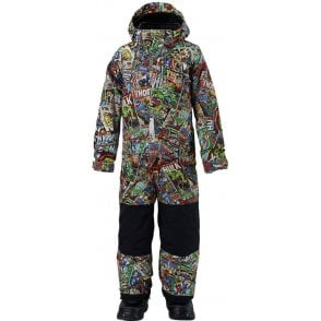 Marvel® x Burton Boys' Minishred Striker One Piece