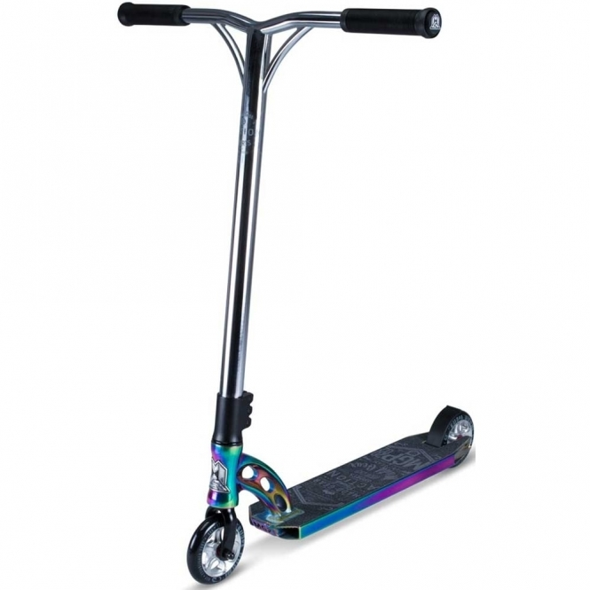 MGP VX7 Team Limited Edition Scooter - Neo-Chrome / Black