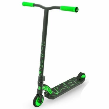 MGP VX8 Pro Scooter - Black / Lime