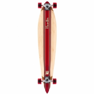 Hunter III Longboard - Red