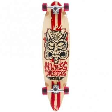 Tribal Rogue II Longboard Natural Red