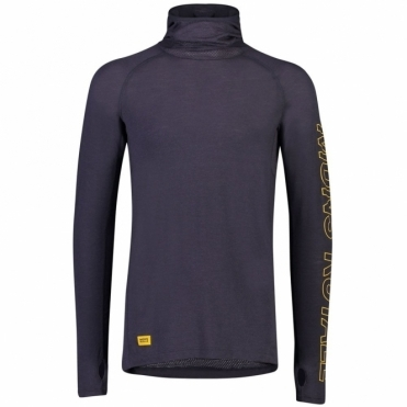 Mons Royale Temple Tech Flex Hood Base Layer