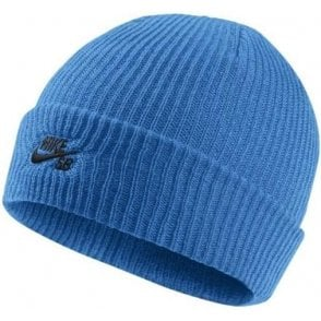 Fisherman Beanie - Blue