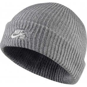 Nike Fisherman Beanie - Grey Heather