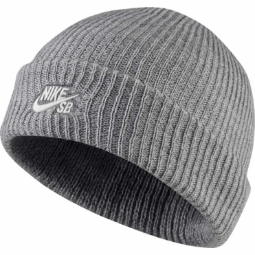 Nike Fisherman Beanie - Grey Heather