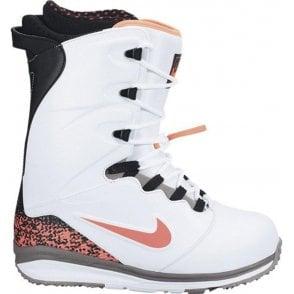 Lunarendor Snowboard Boots - White/Hot Lava