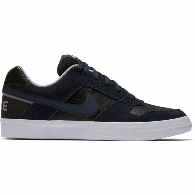 Nike SB Delta Force Vulc Shoes - Navy / Black