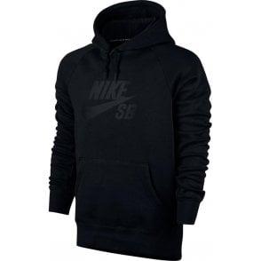 Nike SB Icon Hoodie - Black