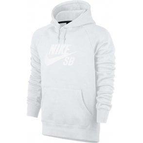 Nike SB Icon Hoodie - White