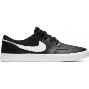 Nike SB Portmore II Solar Premium Shoes - Black