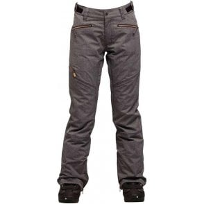 Nikita Women's White Pine Pants - Wax Black