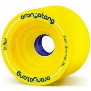 In Heat Longboard Wheels 86A 75mm