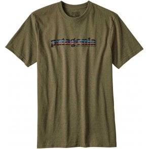 Patagonia '73 Text Logo Recycled Cotton/Poly Responsibili-tee®