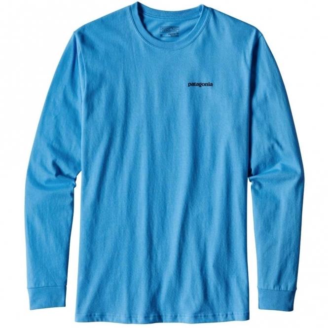 Patagonia Long-Sleeved P-6 Logo Cotton T-Shirt