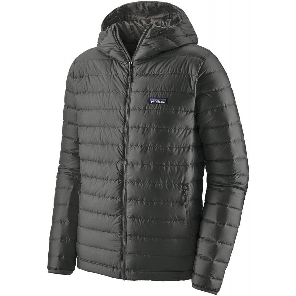 Patagonia Men's Down Sweater Hoodie - Forge Grey