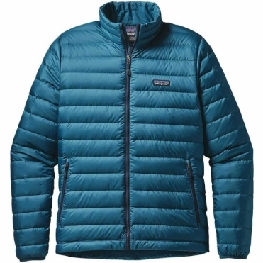 Men's Down Sweater Jacket - Deep Sea Blue