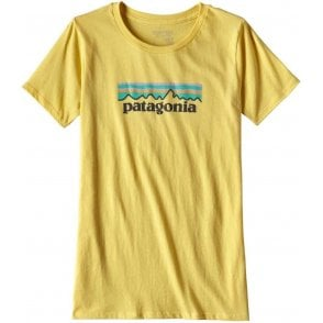 Patagonia Women's Pastel P-6 Logo Cotton Crew T-Shirt