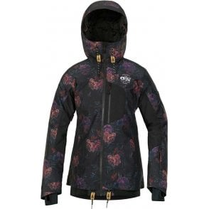 Picture Women's Milk Snowboard Jacket - Flower Print