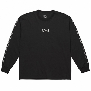 Polar Racing Longsleeve Tee - Black
