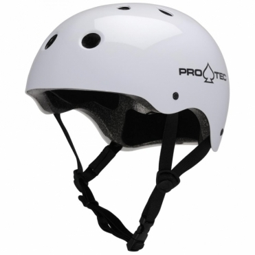 Pro-tec Classic Helmet - Gloss White