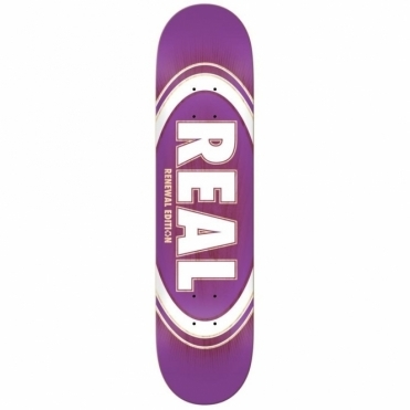 Real Skateboards Oval Burst Deck - 8.25""