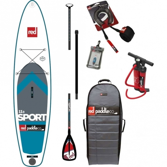 """Red Paddle Co 11'3"""" Sport 2017 Stand Up Paddle Board"""