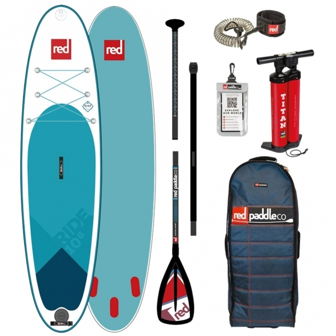 """Red Paddle Co Ride 10'6"""" 2018 Stand Up Paddle Board"""