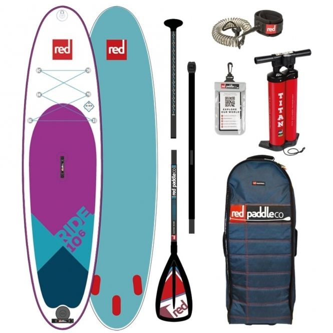 """Red Paddle Co Ride 10'6"""" SE 2018 Stand Up Paddle Board"""