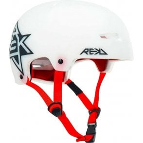 Rekd Elite Icon Semi Transparent Helmet - White