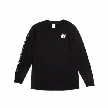Rip N Dip Lord Nermal Pocket Longsleeve - Black