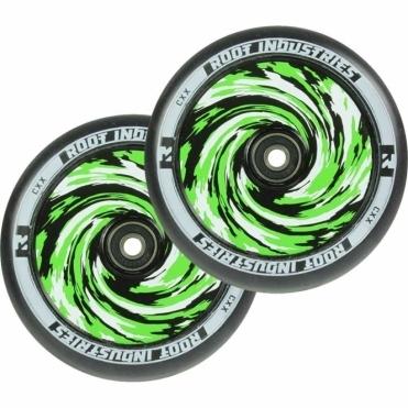 Air Wheels - 110mm Black / Amazon (PAIR)