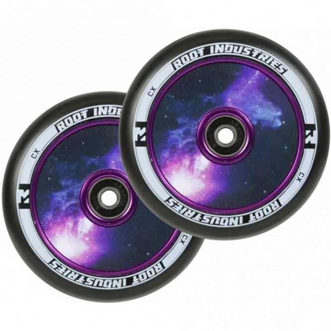 Root Industries Air Wheels - 110mm Black / Galaxy (PAIR)