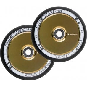 Root Industries Air Wheels - 110mm Black / Gold Rush (PAIR)