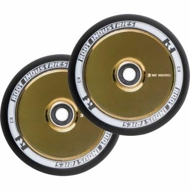 Air Wheels - 110mm Black / Gold Rush (PAIR)