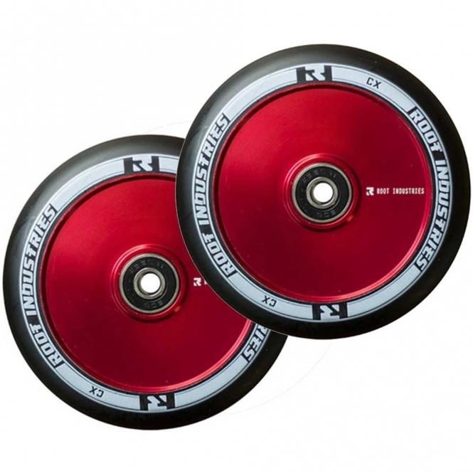 Root Industries Air Wheels - 110mm Black / Red (PAIR)