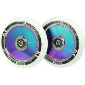 Air Wheels - 110mm White / Neo (PAIR)