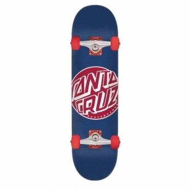 Santa Cruz Complete Fisheye Dot Skateboard - 8.25""