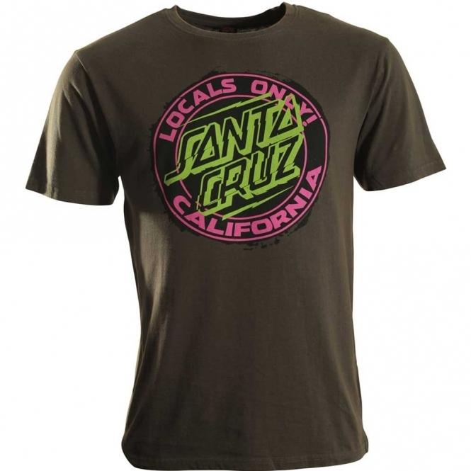 Santa Cruz Locals Only T Shirt