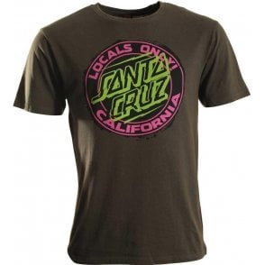 Santa Cruz Locals Only T Shirt
