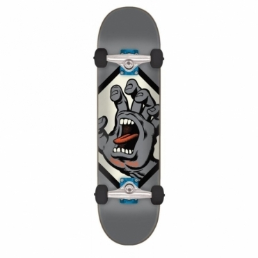 Santa Cruz Screaming Hand Badge Complete Skateboard - 7.75""