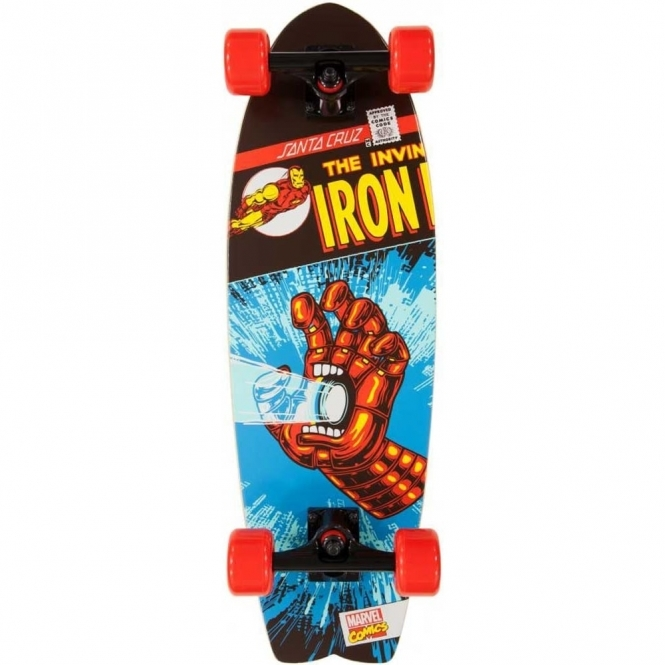 Santa Cruz X Marvel Cruzer Iron Man Hand