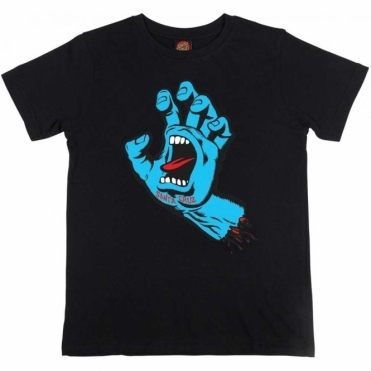 Youth T Shirt Screaming Hand