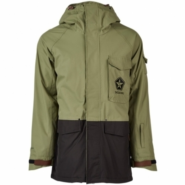 Sessions Men's Supply Snowboard Jacket