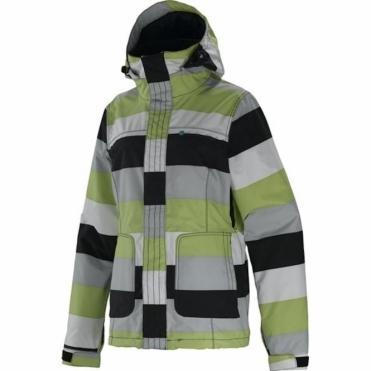 Joy Jacket - Big Stripe Creme de Mint