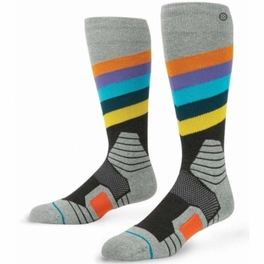 Snowboard Socks - Golden Veins